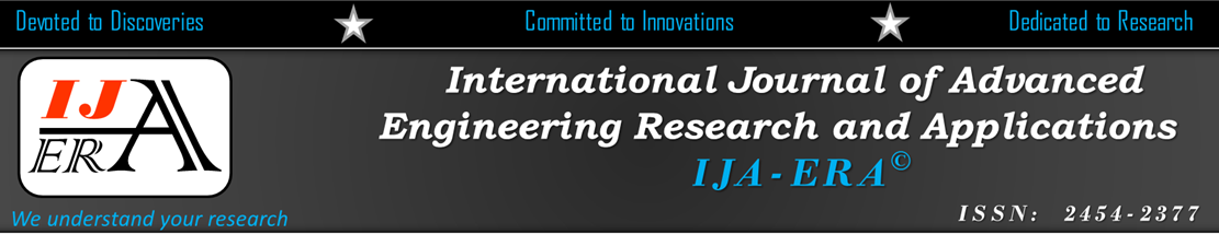 International Journal of Advanced Engineering Research and Applications